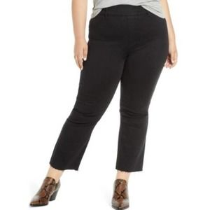 📁SPANX Stretch Cropped Flare Jeans Plus Size